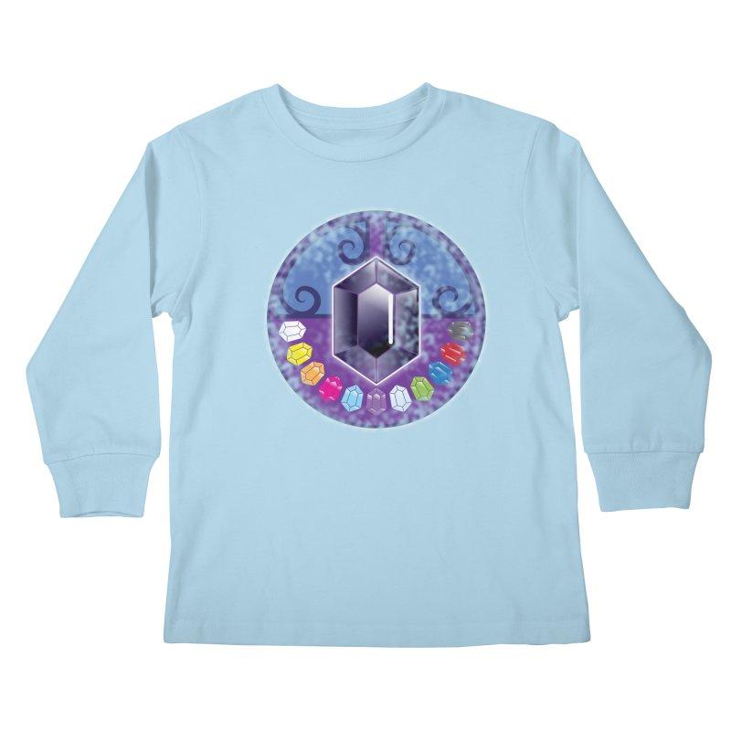 The Black Jewels Kids Longsleeve T-Shirt by JAZZYDEVIL DESIGNZ