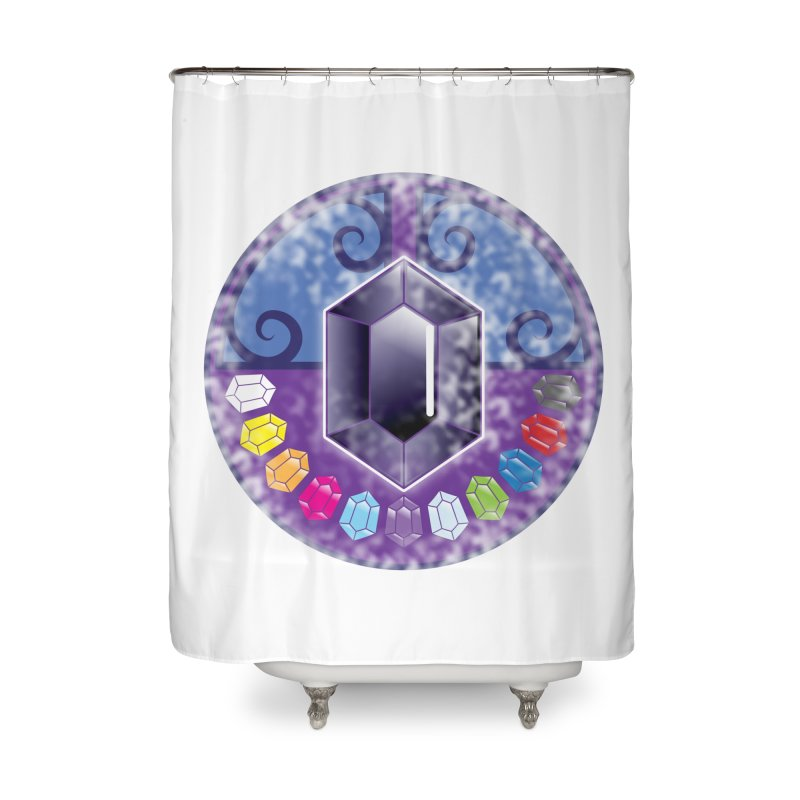 The Black Jewels Home Shower Curtain by JAZZYDEVIL DESIGNZ