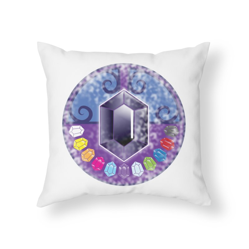 The Black Jewels Home Throw Pillow by JAZZYDEVIL DESIGNZ