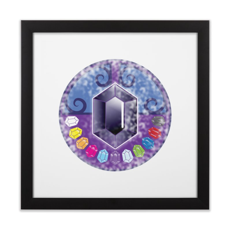 The Black Jewels Home Framed Fine Art Print by JAZZYDEVIL DESIGNZ