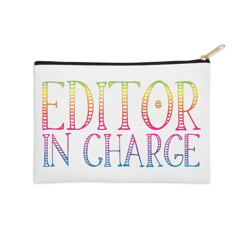 Editor in charge Accessories Zip Pouch by JAZZYDEVIL DESIGNZ