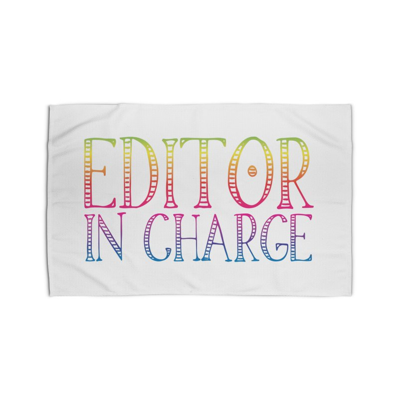 Editor in charge Home Rug by JAZZYDEVIL DESIGNZ