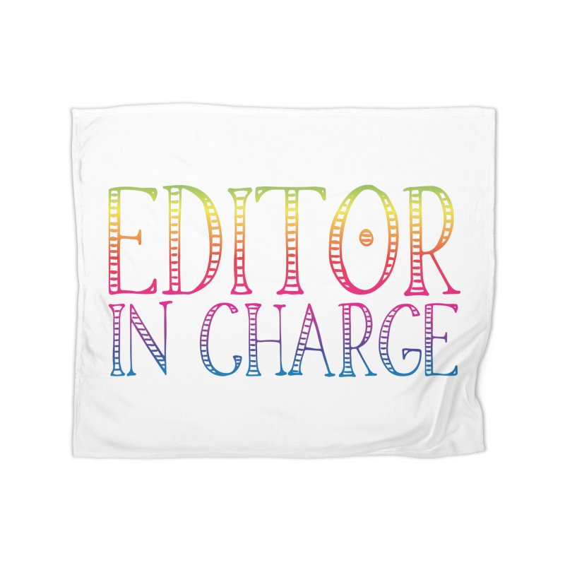 Editor in charge Home Blanket by JAZZYDEVIL DESIGNZ