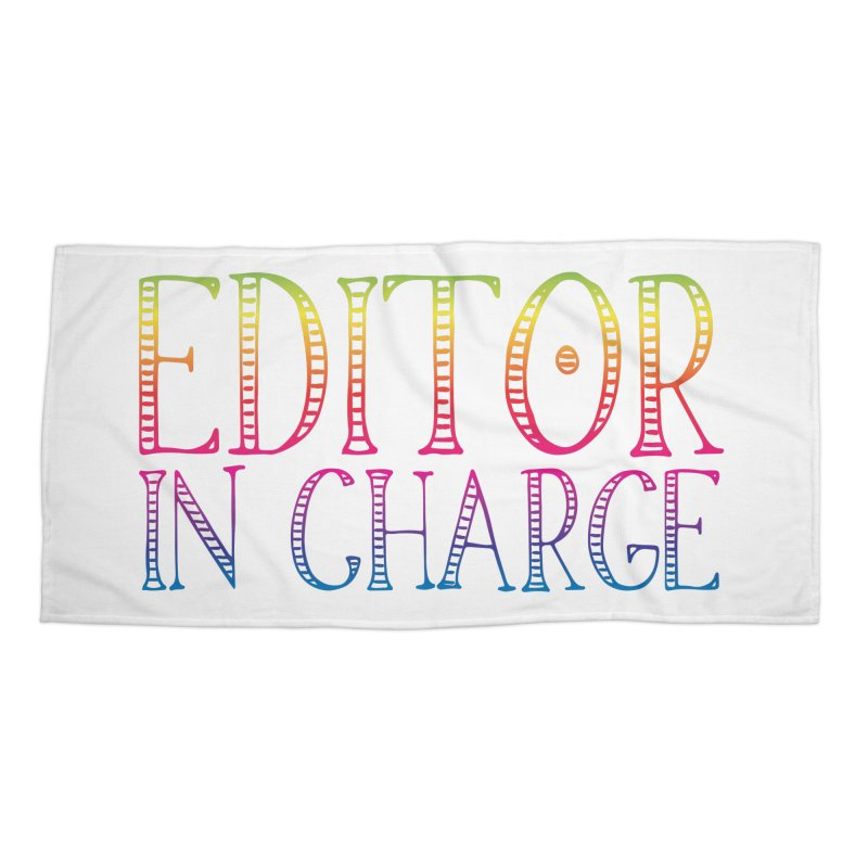 Editor in charge Accessories Beach Towel by JAZZYDEVIL DESIGNZ