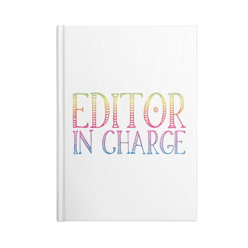 Editor in charge Accessories Notebook by JAZZYDEVIL DESIGNZ