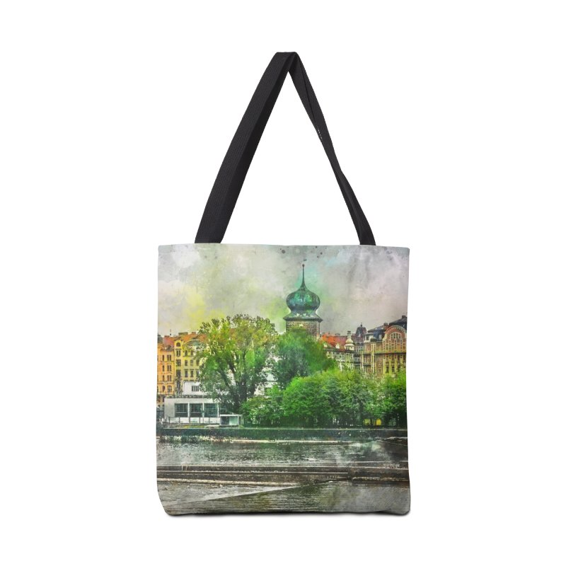 Praha city art #praha #prague Accessories Bag by jbjart Artist Shop