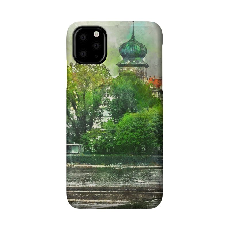 Praha city art #praha #prague Accessories Phone Case by jbjart Artist Shop