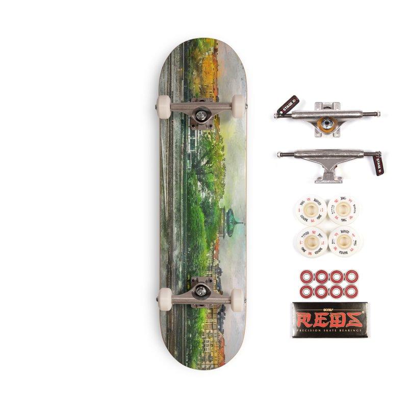 Praha city art #praha #prague Accessories Complete - Pro Skateboard by jbjart Artist Shop