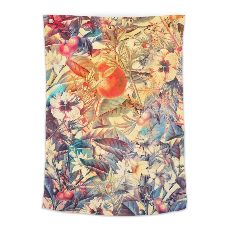 flowers and fruits in Tapestry by jbjart Artist Shop