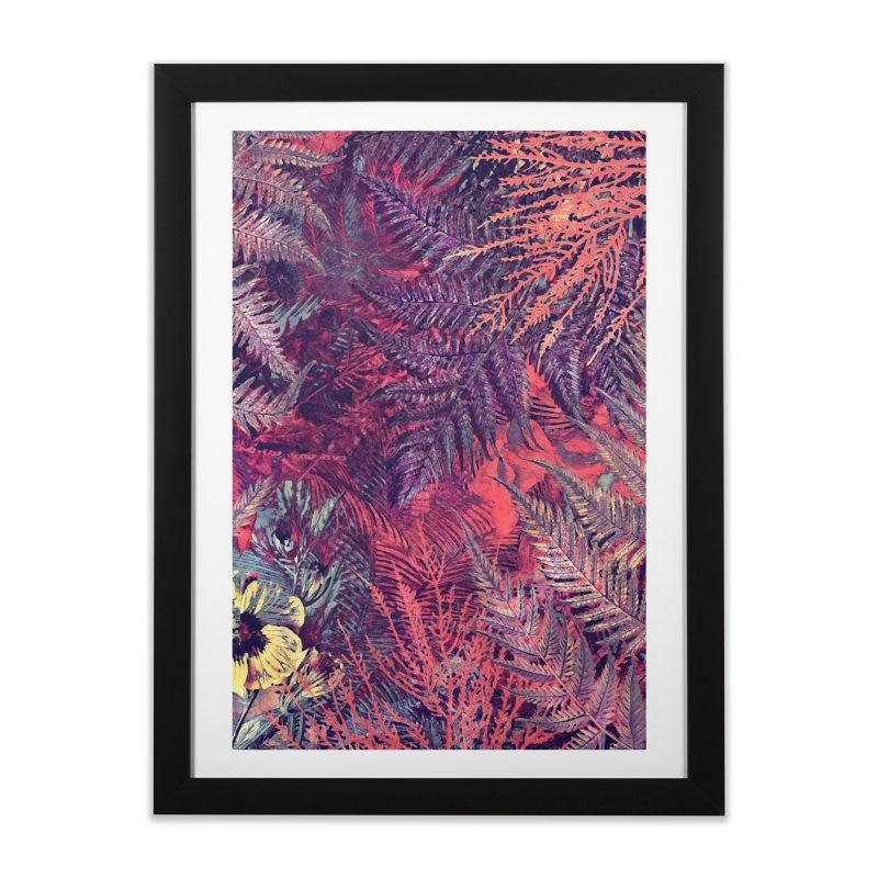 flowers purple in Framed Fine Art Print Black by jbjart Artist Shop