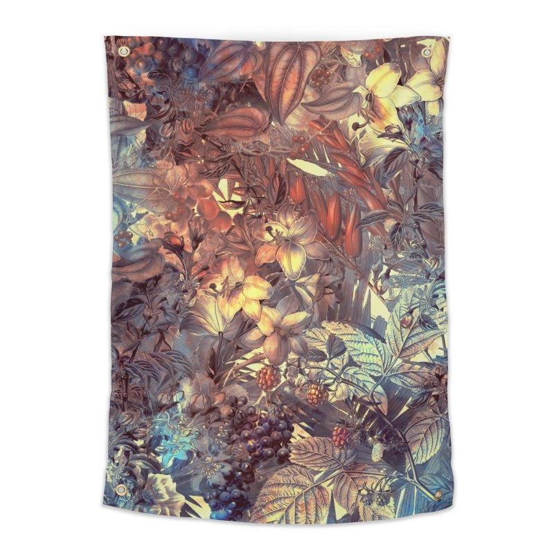 flowers art in Tapestry by jbjart Artist Shop