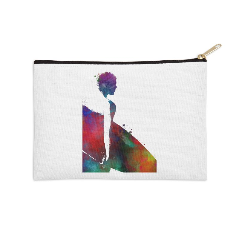 Surfer sport art #surfer #sport Accessories Zip Pouch by jbjart Artist Shop