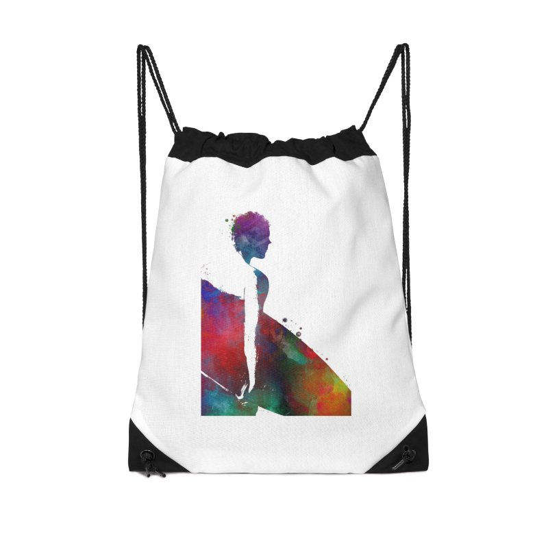 Surfer sport art #surfer #sport Accessories Drawstring Bag Bag by jbjart Artist Shop