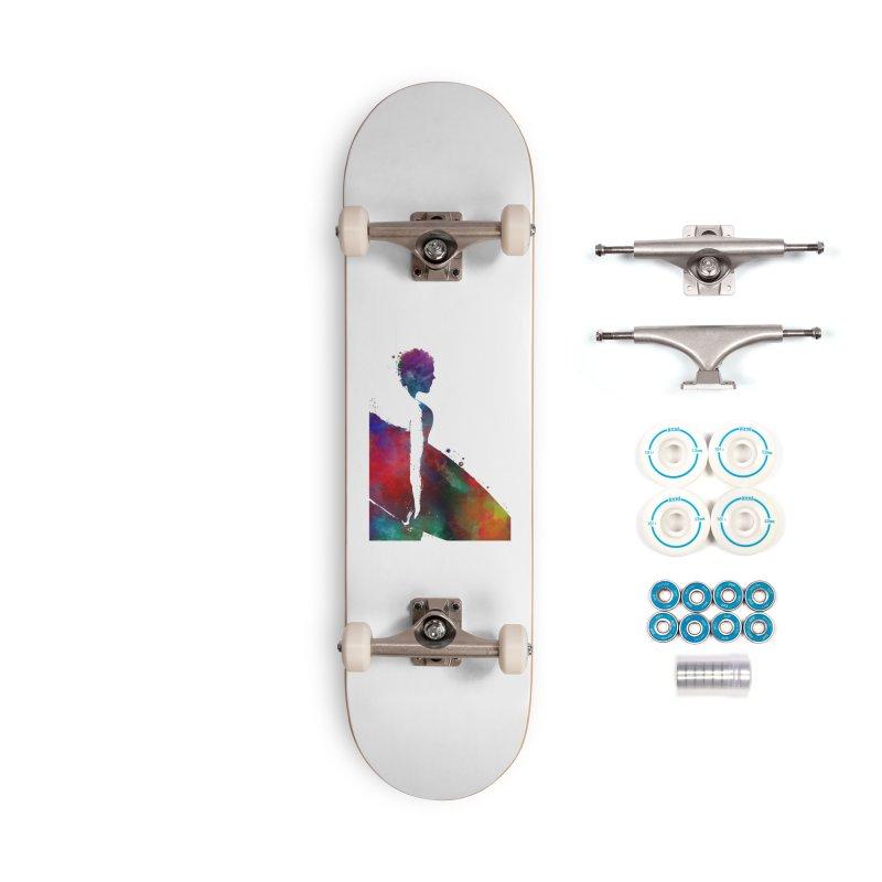 Surfer sport art #surfer #sport Accessories Complete - Basic Skateboard by jbjart Artist Shop
