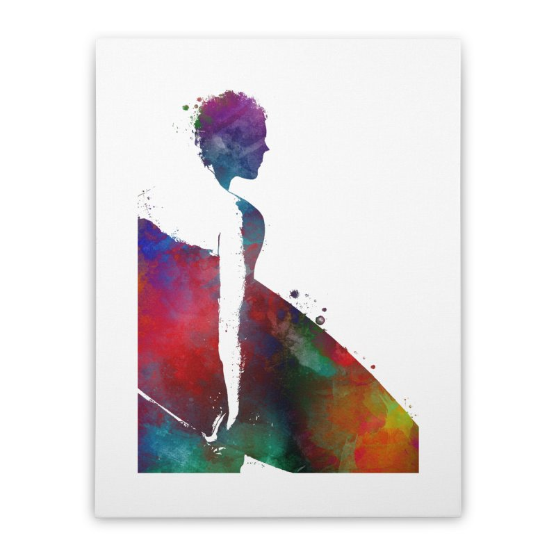 Surfer sport art #surfer #sport Home Stretched Canvas by jbjart Artist Shop