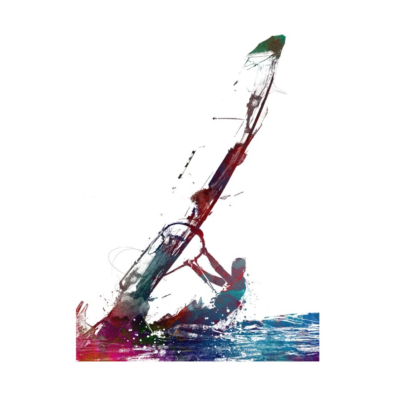 windsurfing sport art #windsurfing #sport Accessories Sticker by jbjart Artist Shop