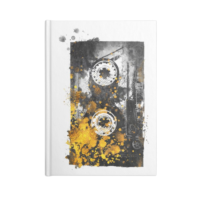 Music tape #music #tape Accessories Notebook by jbjart Artist Shop