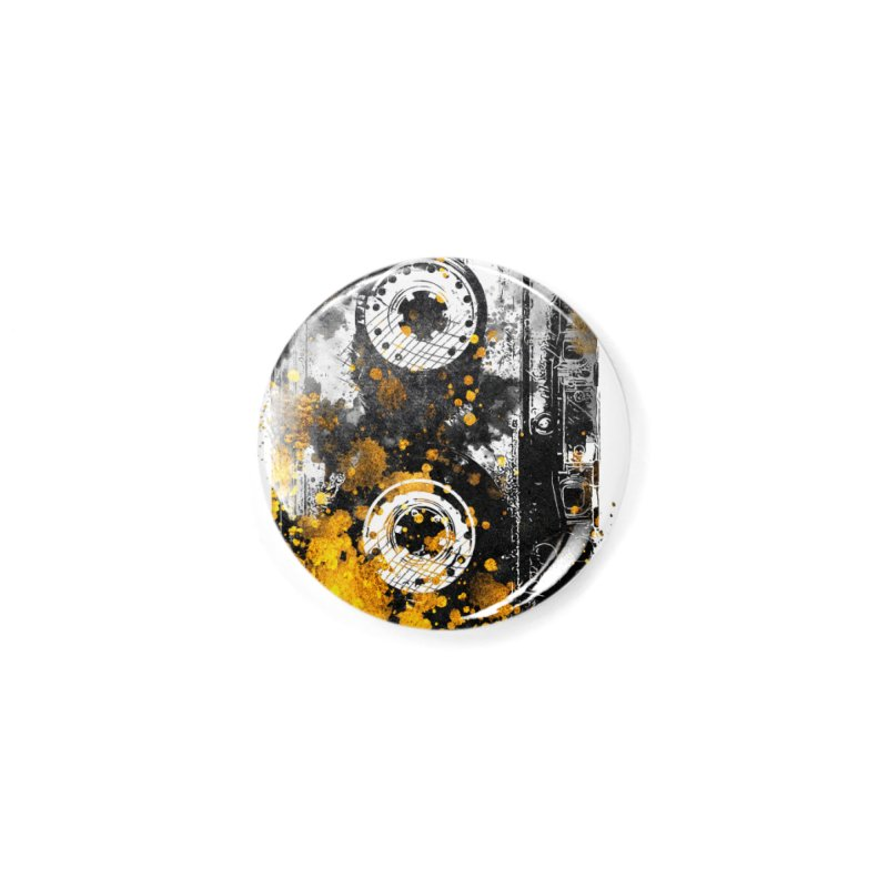 Music tape #music #tape Accessories Button by jbjart Artist Shop