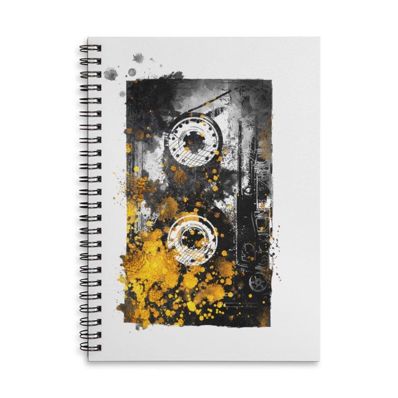 Music tape #music #tape Accessories Notebook by jbjart Artist Shop