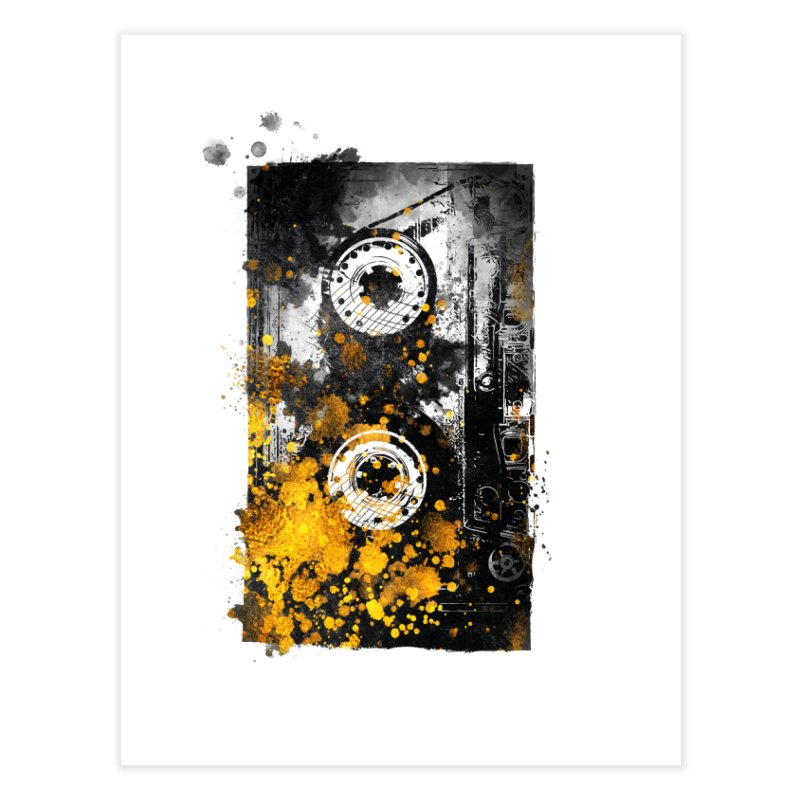 Music tape #music #tape Home Fine Art Print by jbjart Artist Shop