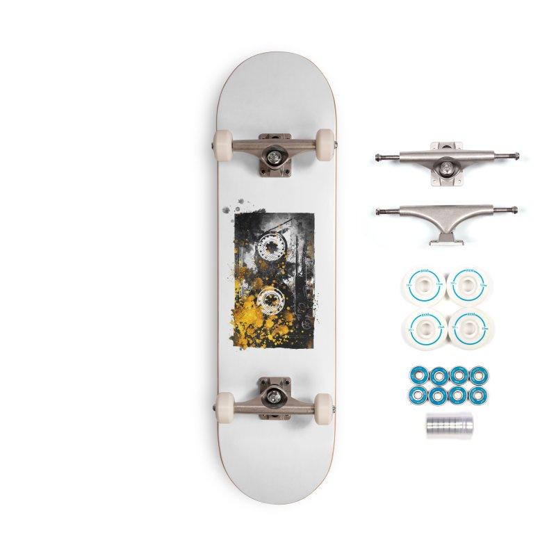 Music tape #music #tape Accessories Skateboard by jbjart Artist Shop