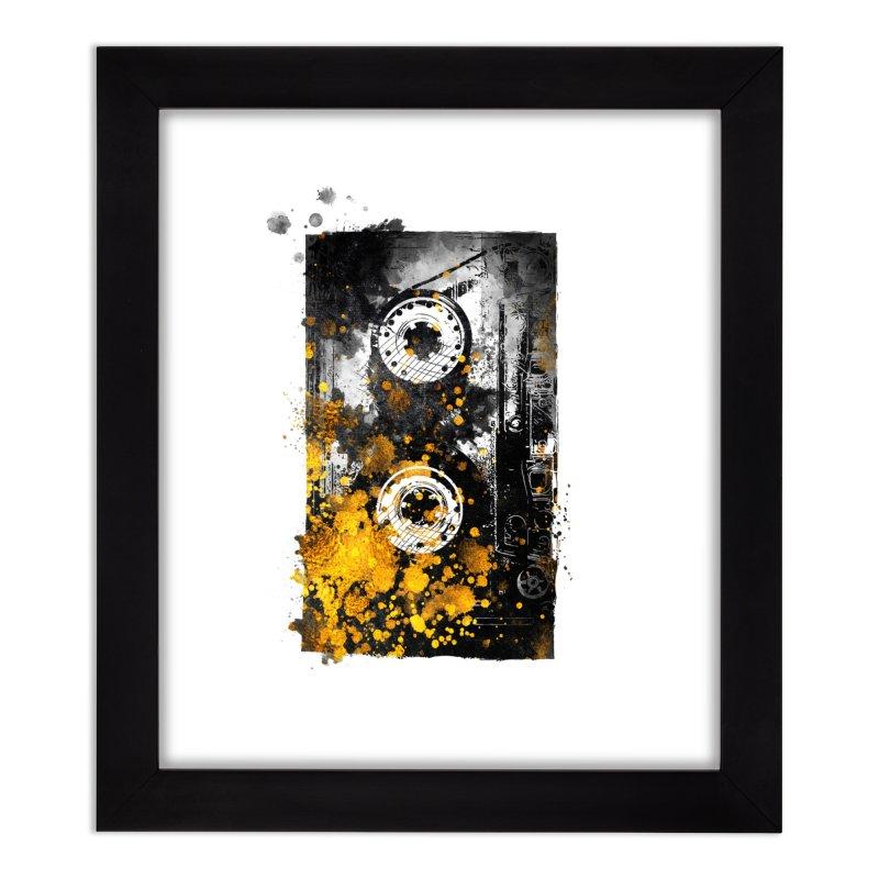 Music tape #music #tape Home Framed Fine Art Print by jbjart Artist Shop