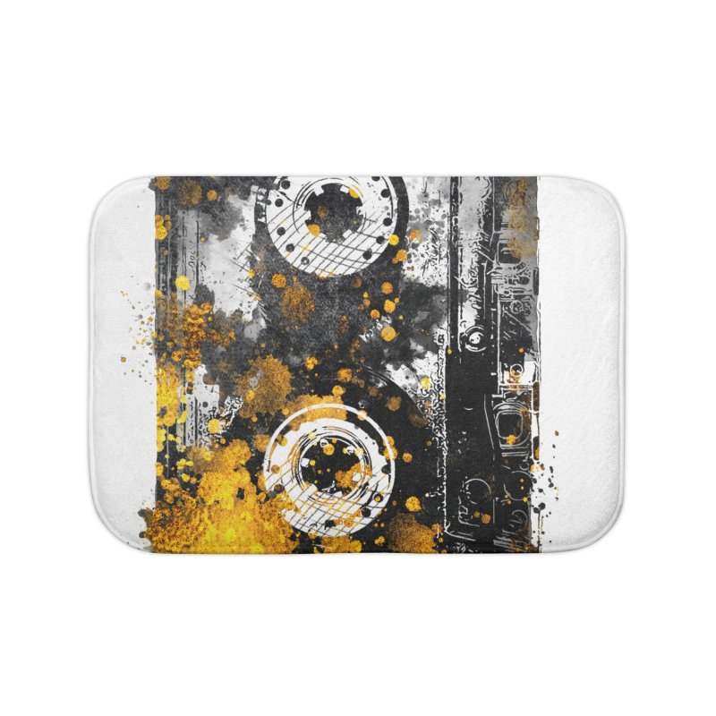 Music tape #music #tape Home Bath Mat by jbjart Artist Shop