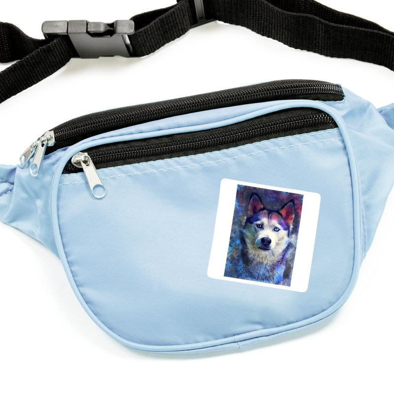 dog husky Accessories Sticker by jbjart Artist Shop