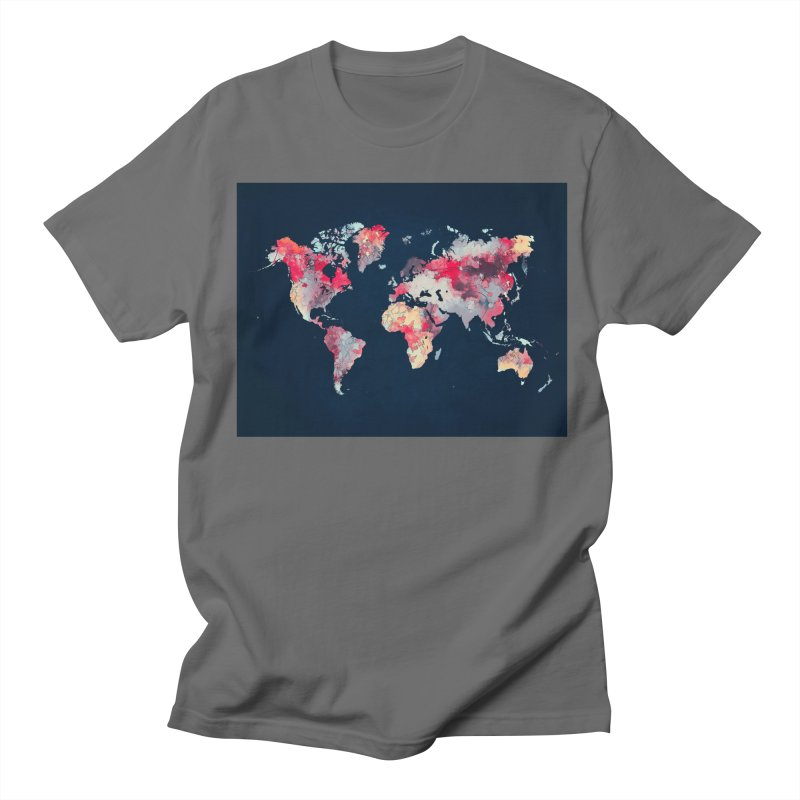 world map 2  Women's T-Shirt by jbjart Artist Shop