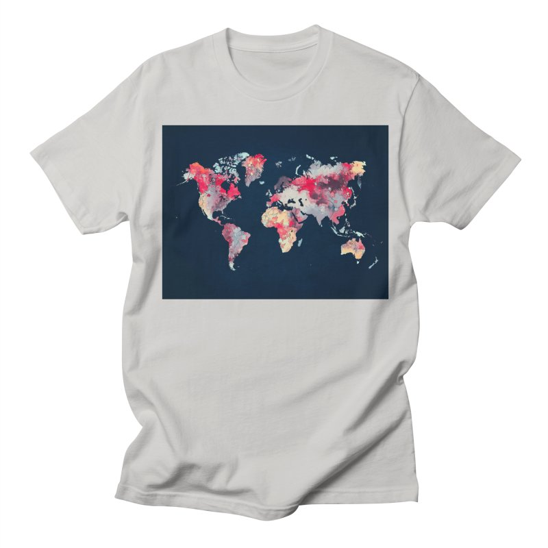 world map 2  Men's Regular T-Shirt by jbjart Artist Shop