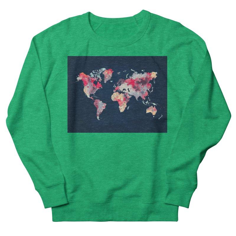 world map 2  Women's Sweatshirt by jbjart Artist Shop