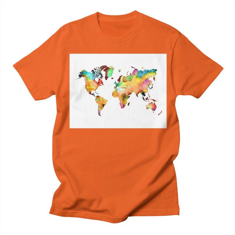 world map 3 Men's T-Shirt by jbjart Artist Shop