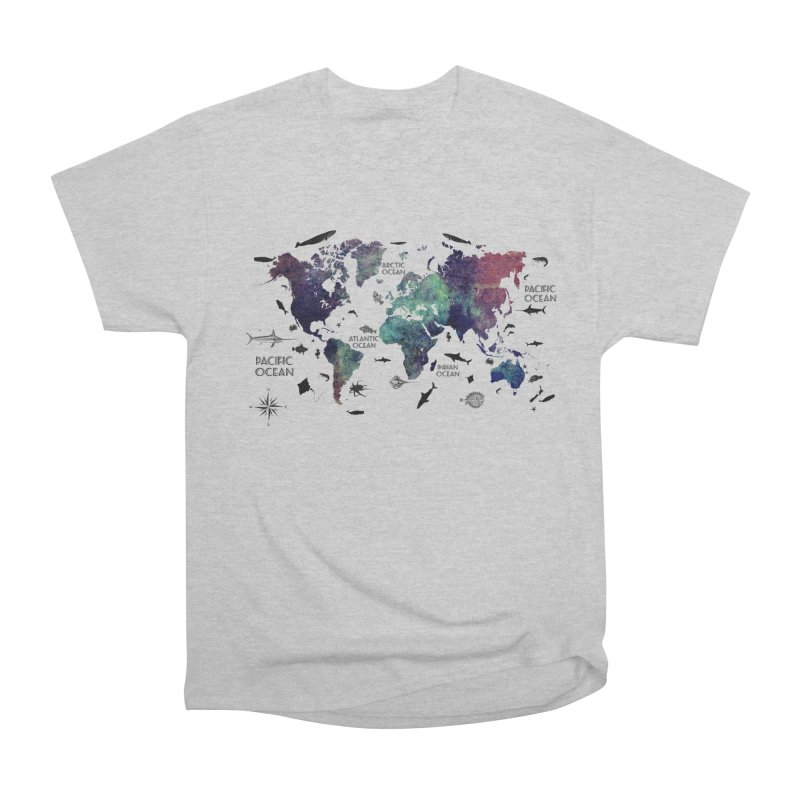 world map 12 Men's Heavyweight T-Shirt by jbjart Artist Shop