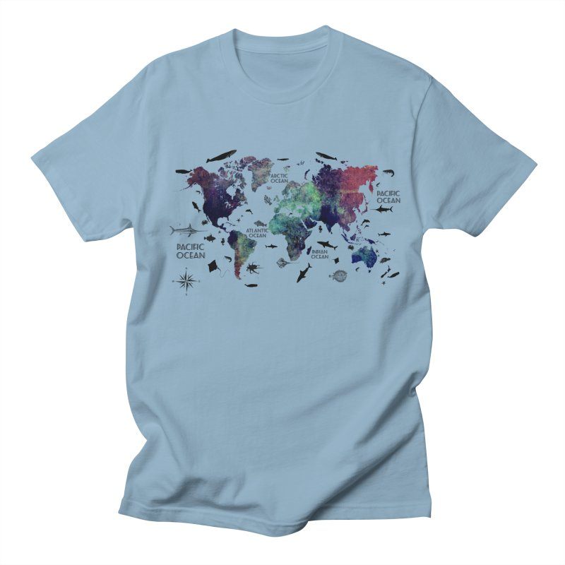 world map 12 Men's Regular T-Shirt by jbjart Artist Shop