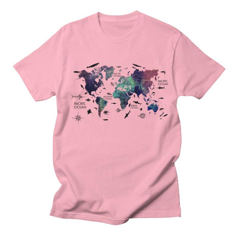 world map 12 Women's Regular Unisex T-Shirt by jbjart Artist Shop
