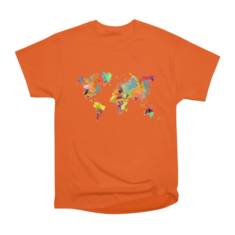 world map colors 16 Men's T-Shirt by jbjart Artist Shop