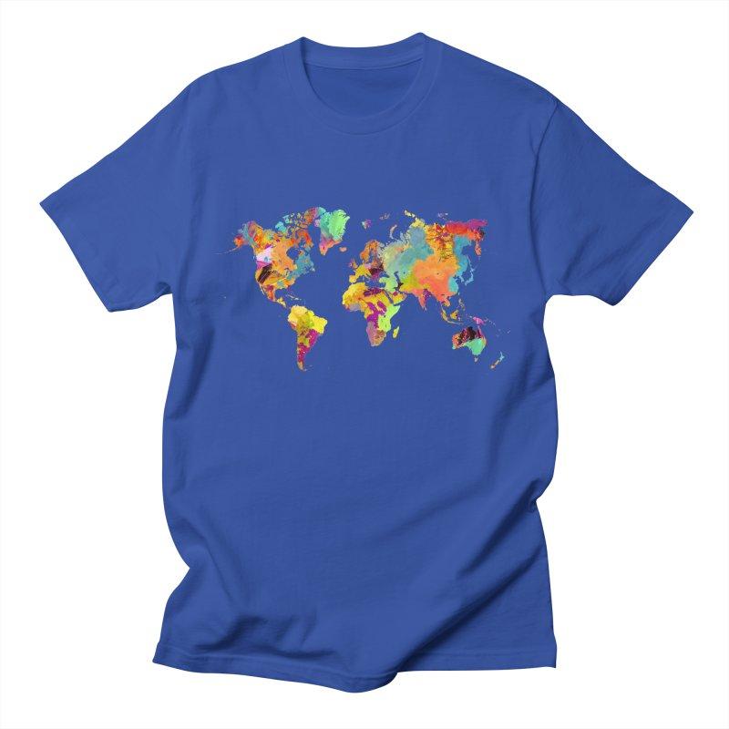 world map colors 16 Women's Regular Unisex T-Shirt by jbjart Artist Shop