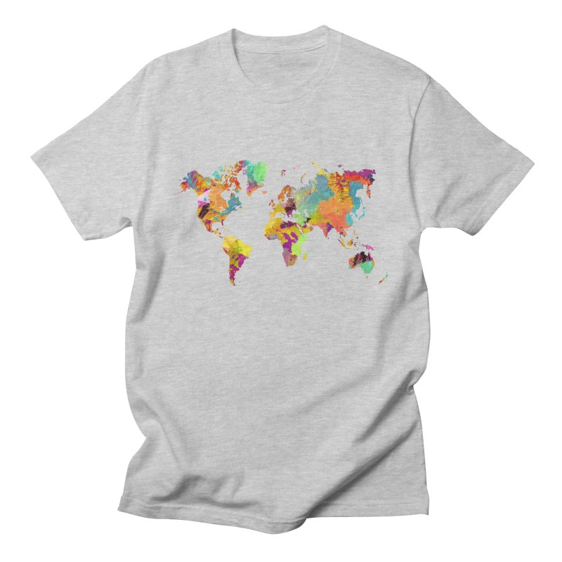 world map colors 16 Men's Regular T-Shirt by jbjart Artist Shop