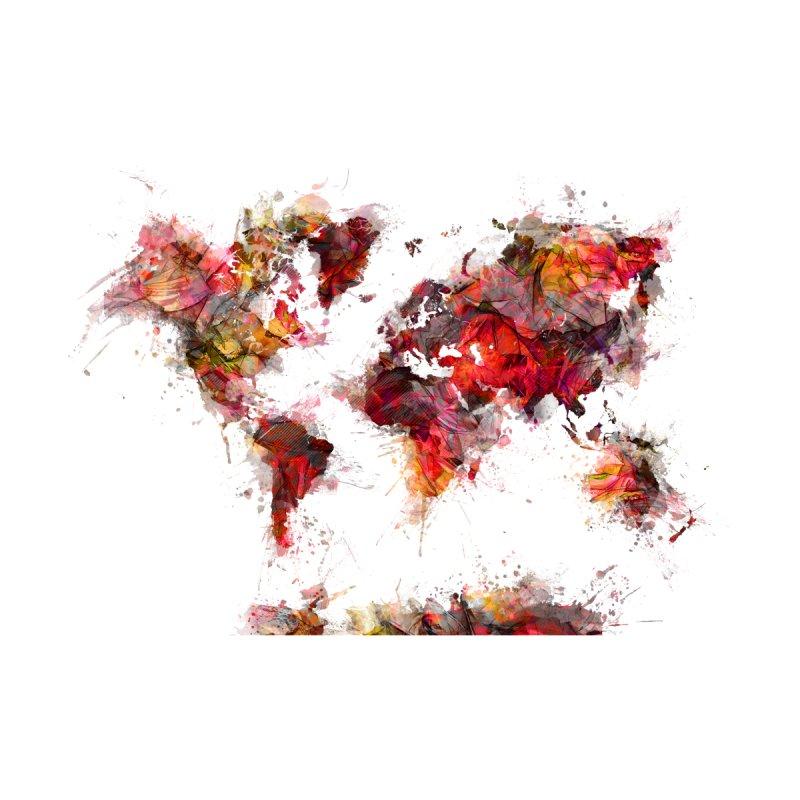 world map 19 Home Mounted Acrylic Print by jbjart Artist Shop