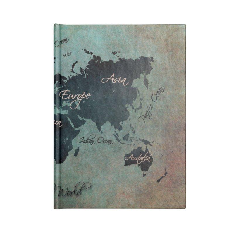 world map 24 Accessories Notebook by jbjart Artist Shop