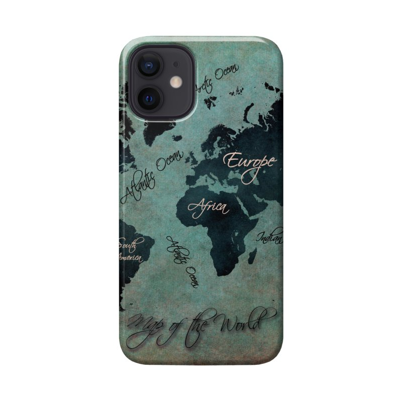 world map 24 Accessories Phone Case by jbjart Artist Shop
