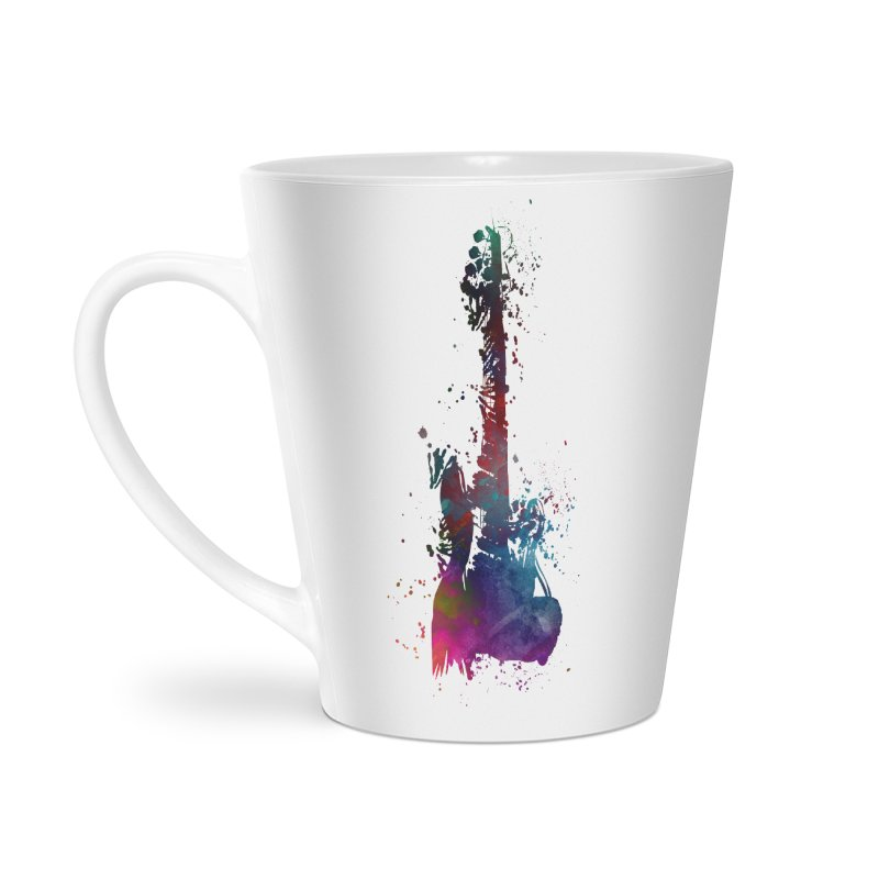 Guitar art Accessories Latte Mug by jbjart Artist Shop