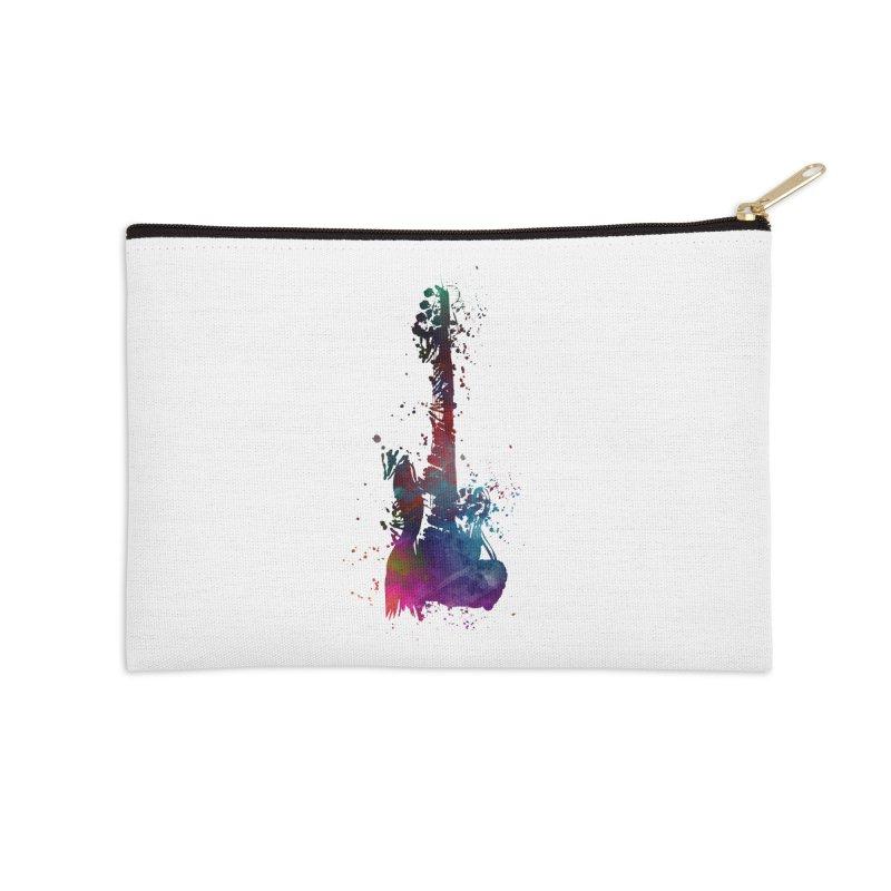 Guitar art Accessories Zip Pouch by jbjart Artist Shop