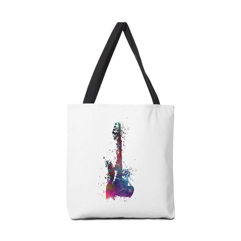 Guitar art Accessories Tote Bag Bag by jbjart Artist Shop