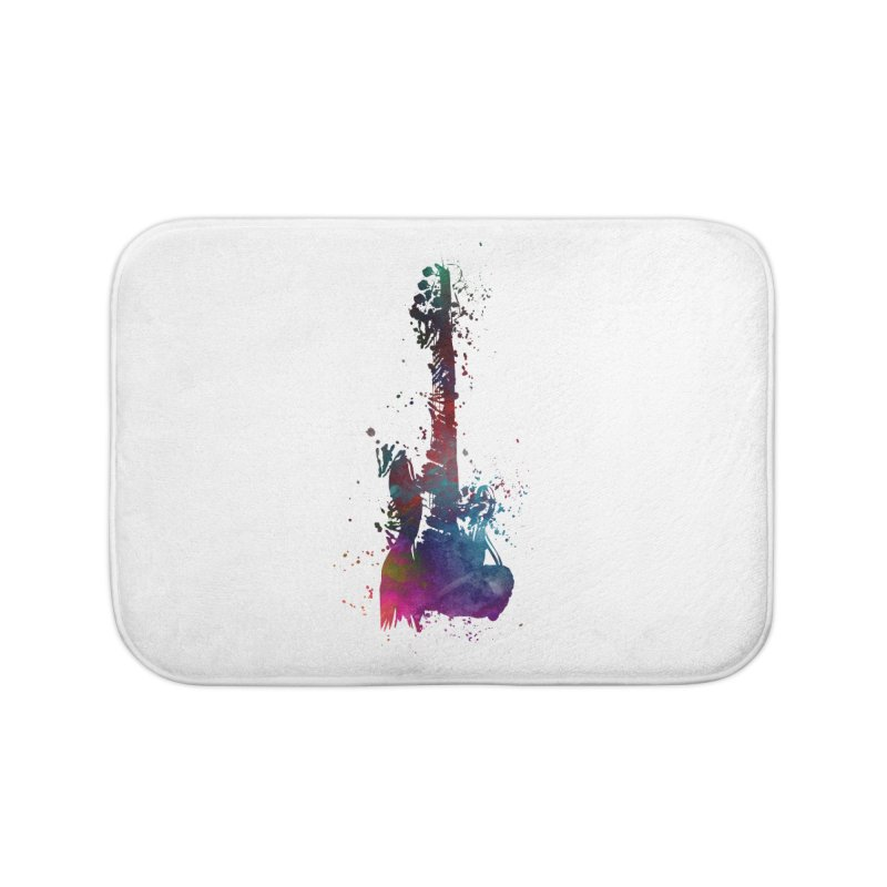 Guitar art Home Bath Mat by jbjart Artist Shop