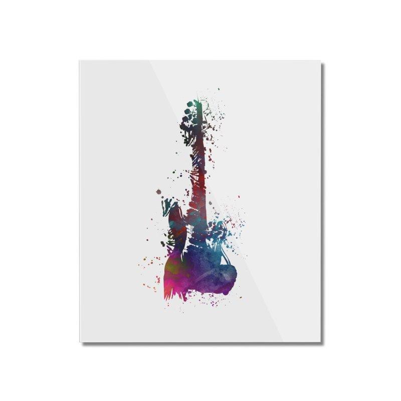 Guitar art Home Mounted Acrylic Print by jbjart Artist Shop