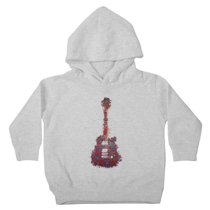 Guitar Kids Toddler Pullover Hoody by jbjart Artist Shop