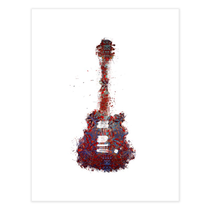 Guitar Home Fine Art Print by jbjart Artist Shop