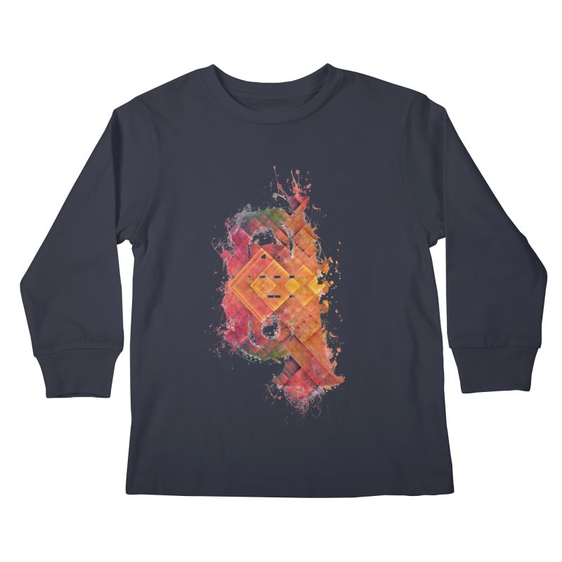 tuba Kids Longsleeve T-Shirt by jbjart Artist Shop