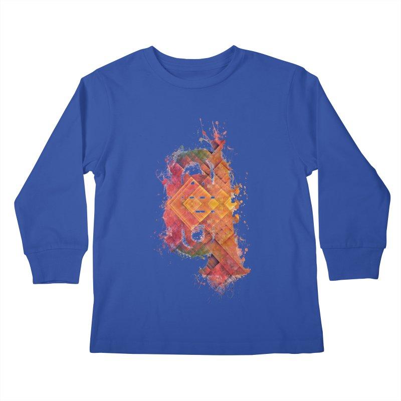 tuba Kids Longsleeve T-Shirt by jbjart Artist Shop